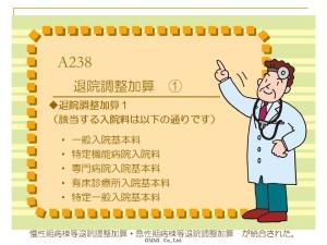 A238 退院調整加算 ①