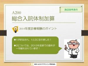 A200 総合入院体制加算1